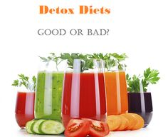"""Detox Diets - Good or Bad?  Let's start with, """"What are toxins?"""" Toxins are chemicals known to have unfavorable effects on the human body. They can be found in food (or substances used in growing food), water and even in the air. Toxins are processed through organs like the liver and kidneys and are eliminated through perspiration..."""