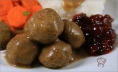 Ragoût de boulettes de Noël... végétalien Tofu, Buffalo Wings, Batch Cooking, Vegan Recipes, Potatoes, Fruit, Vegetables, Healthy, Desserts
