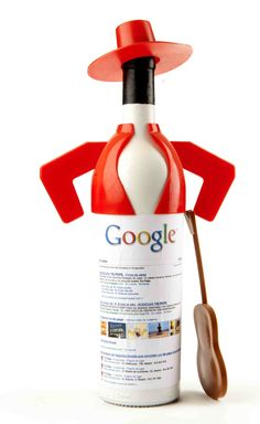 Google y Tio Pepe. #sherry #wine #bottles