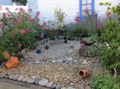 my dry creek in place of grass