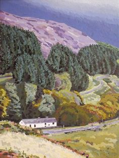 "ARTFINDER: Soar Y Mynydd by Andrew Francis - Capel Soar Y Mynydd is described as ""the most remote chapel in Wales"" – miles from anywhere in the Cambrian Mountains."