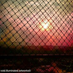 The cage, photo from the Instacanvas gallery of void_illuminated_artworks.