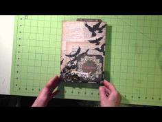 EZ Manilla File Folder Album for Halloween - YouTube Michelle Allen