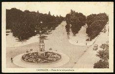 Plaza de la Independencia : Castellón. (s.a.) - Anónimo Plaza, Valencia, Vintage World Maps, Painting, Art, Antique Photos, Art Background, Painting Art, Kunst