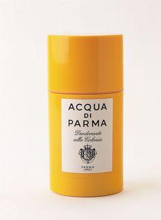 Acqua Di Parma 75ml Colonia deodorant stick Acqua Di Parma 75ml Colonia deodorant stick. This refreshing deodorant stick is delicately scented with the classic Colonia fragrance. http://www.comparestoreprices.co.uk/health-and-beauty/acqua-di-parma-75ml-colonia-deodorant-stick.asp