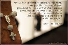 Rosário Terço Fé Oração