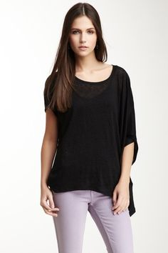 Side Draped Pullover...love the pants too!