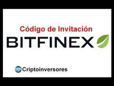 Código de Invitación Bitfinex