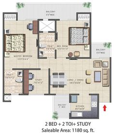 56 best real estate noida images on pinterest apartments nirala aspire 2bhk apartments floor plan malvernweather Gallery