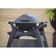weber q 2400 electric grill with cart