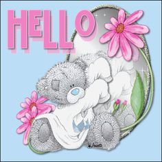 Hello From Tatty Teddy Graphic