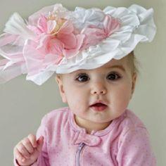 Baby girl Easter hat. Etsy.com
