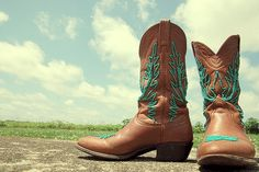 cowboy boots tattoo these colors