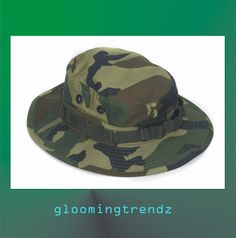 TYPES OF HAT - GRAB THE ONE YOU LIKE - GLOOMING TRENDZ Army Camouflage e68aeba46d65