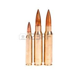 Golden Bullet Isolated On White Background Stock Photo, Picture ...
