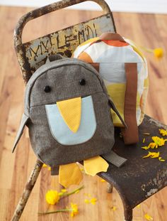 Penguin Backpack from Oliver + S Little Things to Sew