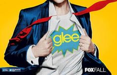 Gleeks if you want the newest poster for Glee's Fall Season you can get at Comic Con. But who it that in that Glee suit!  Whichof the hunky guys is on that poster but there is a hint if you looks closely.