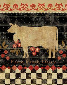 Retro Farm II <br/> Pamela Gladding