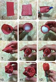 Ideas for aplicaciones patchwork ideas Felt Flowers, Diy Flowers, Fabric Flowers, Paper Flowers, Felt Crafts, Easter Crafts, Diy And Crafts, Sewing Crafts, Sewing Projects