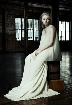 Shades of Pale: Danica Zhengs Fall/Winter 2015 Collection