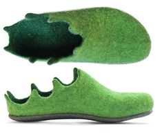 handgemaakte wollen pantoffels, kleurrijke en stijlvolle