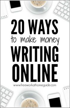 Websites that pay writers