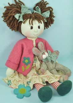 Millie & Rose Rag Doll Pattern