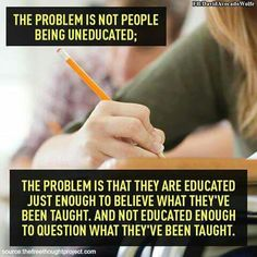 Uneducated
