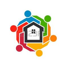 Find Real Estate People Group Vector Illustration stock images in HD and millions of other royalty-free stock photos, illustrations and vectors in the Shutterstock collection. Thousands of new, high-quality pictures added every day. People Illustration, Graphic Illustration, Property Logo, House Property, People Logo, People Icon, Construction Logo Design, Real Estate Logo Design, Marketing Logo