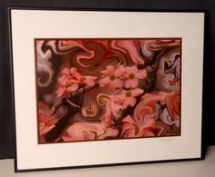 Distorted Dogwood Framed Photograph by EnchantedStudios on Etsy, $75.00