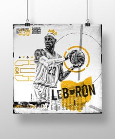 Cavs Concept - Lebron James - Graphic Design