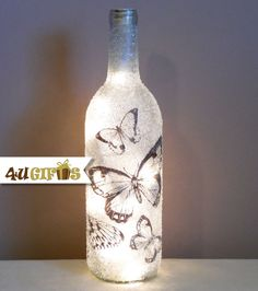 Butterfly Shimmery Lights Decorated and Lighted by 4UGIFTSONLINE