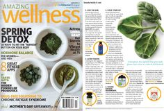"""@awellnessmag  features #NubianHeritage Coconut & Papaya deodorant in the May/June issue in an editorial titled, """"Odor-Free, Naturally."""""""