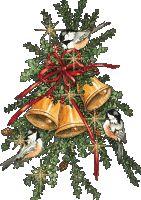 KERSTKLOKKEN, kerstanimaties en kerstplaatjes bij Kerst bij Annemiek
