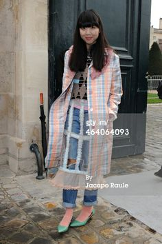 Susie Bubble attends the Christian Dior show as…