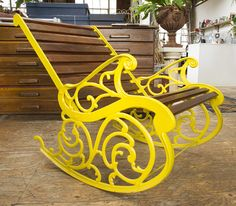 A cast iron and teak garden rocking chair, circa Rocking Chair, Art Decor, Home Decor, Antique Furniture, Cast Iron, Teak, Antiques, Garden, Chair Swing