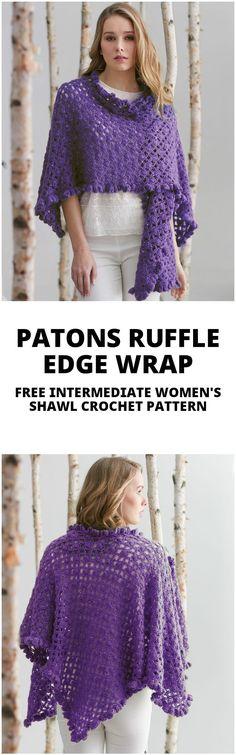 100 Free Crochet Shawl Patterns - Free Crochet Patterns - Page 6 of 19 - DIY & Crafts