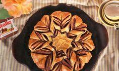 Comparte Recetas - Hojaldre trenzado de Nutella