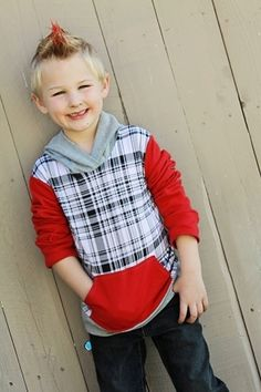 Toby's Boys Boutique Hooded T-Shirt PDF Pattern