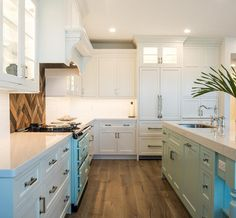 "Kitchen Hardwood Floor. The Driftwood floors are by Medallion Antique White 7.5"" wide plank. Kitchen Hardwood Flooring. Kitchen Hardwood Floor ideas. Kitchen Hardwood Floor #KitchenHardwoodFloor #KitchenHardwoodFlooring #Kitchen #HardwoodFloor Waterview Kitchens"