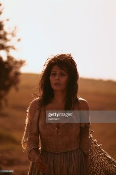 Italian actress Sophia Loren shown in her role as the Spanish barmaid Aldonza, whom Don Quixote fancies as the lady Dulcinea, in the movie version of the musical Man of La Mancha filmed on location in Italy. With Peter O'Toole cast in the double role of Don Quixote and the classic's author Miguel de Cervantes, the Arthur Hiller film is being released by United Artists.