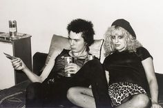 Nancy Spungen and Sid Vicious