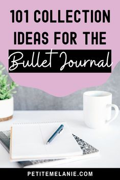 More than 100 collection ideas for your Bullet Journal! The ultimate list for page ideas in your Bullet Journal. Health personal development entertainment hobbies reading work school etc: collections for everybody! Bullet Journal Health, Bullet Journal Goals Page, Making A Bullet Journal, Bullet Journal For Beginners, Bullet Journal Mood, Bullet Journal School, Bullet Journal Hacks, Bullet Journal How To Start A, Bullet Journal Inspiration