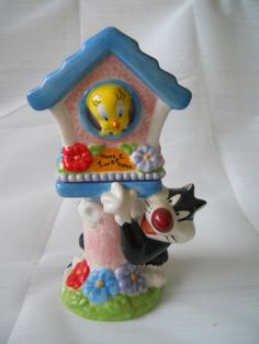 Looney Tunes Sylvester and Tweetie Salt and by TheShakerShack