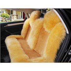 Reallink@Multiple Colors 5 Seats/Set Wool Car Seat Cushion Winter Car Mats Auto – BRL R$ 529,55