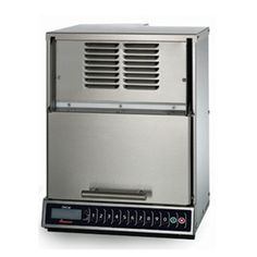 ACP (MOC24) - 2400 Watt Microwave Oven. Commercial Microwave Oven, 2400 watts convection, 1400 watts, s/s interior & exterior, top & bottom magnetrons, 100 programmable settings, 11 power levels, automatic door opening at end of cycle, LED display, limited 3-yr warranty, 208-230v/60/1-ph, 3100 total watts, 20 amps, 20 MCA, 5' cord & NEMA 6-20P.