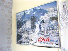 Lech Austria Framed Vintage Poster  LANDSCAPE by VintageCommon