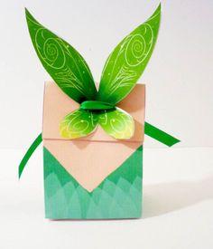 Printable Pictures Fairies Pixies | Tinkerbell Pixie Fairy Printable Party Treat Box. $3.50, via Etsy.