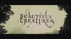 Imaginary Forces - Beautiful Creatures End Title Sequence. Beauty is in the eye of the beholder – and behold! The end title sequence for the...