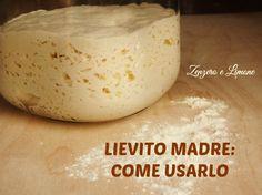 Il lievito madre, chiamato anche pasta madre, è un lievito naturale che si può utilizzare per preparare prodotti di panetteria e di pasticceria.